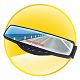 Car Bluetooth Rearview Mirror + LED Display + FM Transmitter