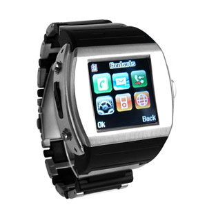 Watch Phone + QUAD-BAND + Bluetooth + Camera+1.5inch Samsung TFT Touch Screen