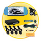Car Reversing Set - 4 Sensors + Rearview Camera+ 7inch TFT monitor
