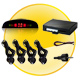 Car Parking Sensor System - 4 Sensors + Digital Tube Mirror monitor