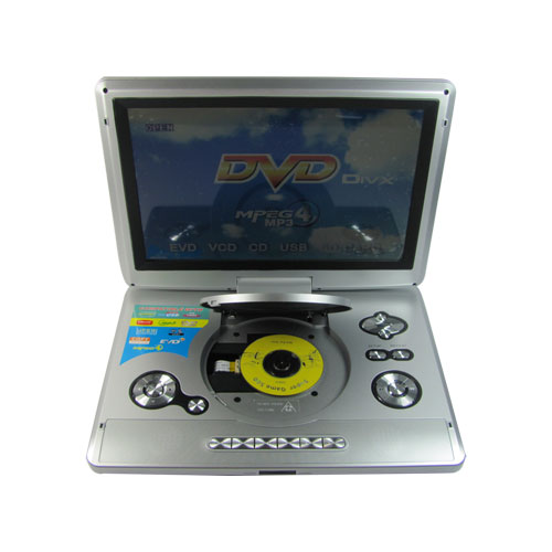 Portable DVD Players-13 inch TFT Screen+180 degree rotating+TV+Game