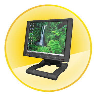 10.4&#8243; TFT LCD Touch Screen Monitor + HDMI and DVI Input 262.61