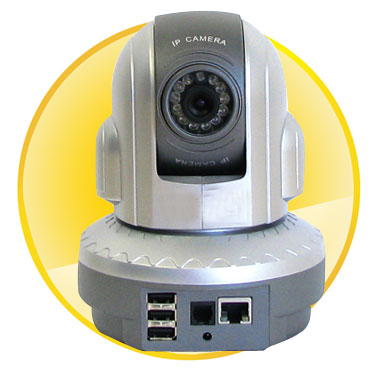 Day/Night 12IR (10M) Dome IP Camera with 1/3inch COMS Sensor