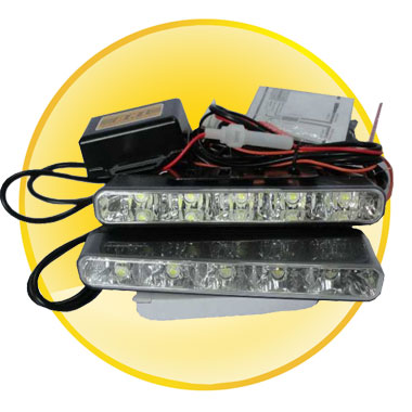 10pcs LED Daytime Running Light With Anti-Vibration Function