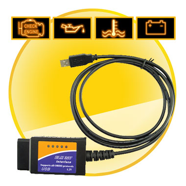 ELM 327 Car Diagnostics USB to VAG-COM Fault Code Cable
