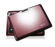 Portable Multimedia DVD Player with 9 Inch Widescreen+ Textured Design Top
