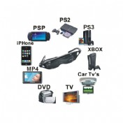 80 Inch Big Screen Video Glasses with 2GB Multimedia Player + Camera + Play Game + AV-IN / AV-OUT