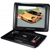12 inch Portable DVD player + 270 Degree Rotating + TV + Games