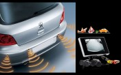 3.5inch LCD Screen+ 4pcs Parking Sensors +Night Vision Rear View Camera