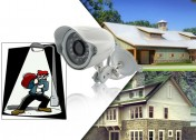 Mini Video Security Camera with Night Vision (Weatherproof)